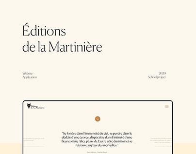 Éditions de la Martinière - Website & App
