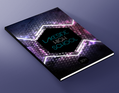 lakeside high school yearbook cover 2014 on behance