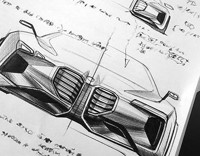 BMW - fast idea sketching
