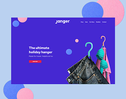 Janger Ecommerce Website
