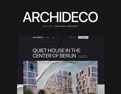 ARCHIDECO — Real Estate