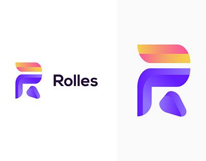 R Letter Logo Concept | R Lettermark