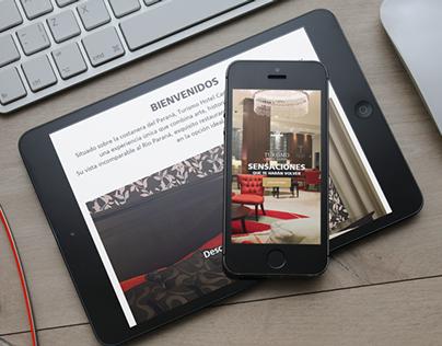 Turismo Hotel Casino - Diseño de Sitio Web