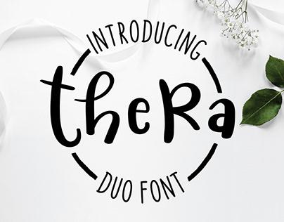 Thera Duo Font