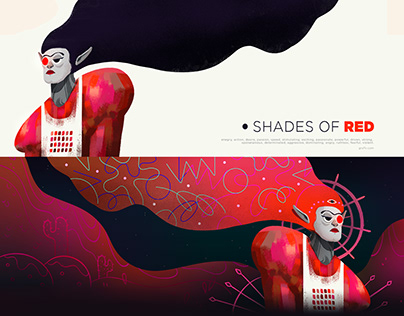 SHADES OF RED - Blood