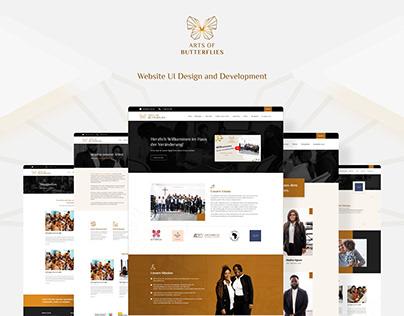 AOFB Website UI Design and Development