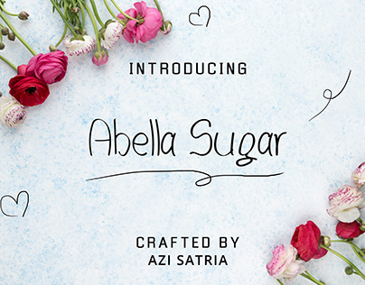Abella Sugar Font Typeface