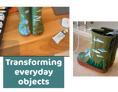 Studio Art 3 Fall 2020 - Transforming Everyday Objects