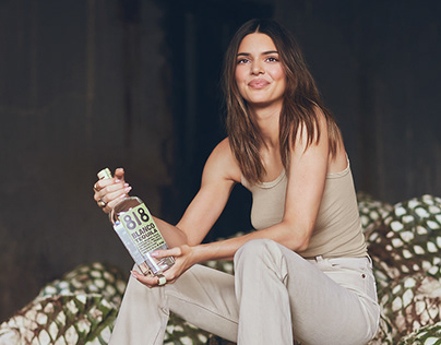 Kendall Jenner for Drink 818