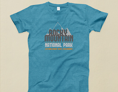 National Park Logo Design for Apparel Company
