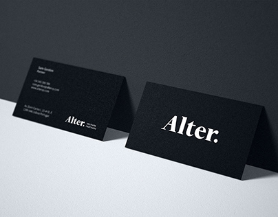 Alter Venture Partners — branding, web