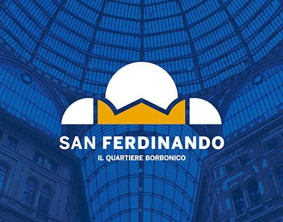 San Ferdinando, il quartiere borbonico - brand identity