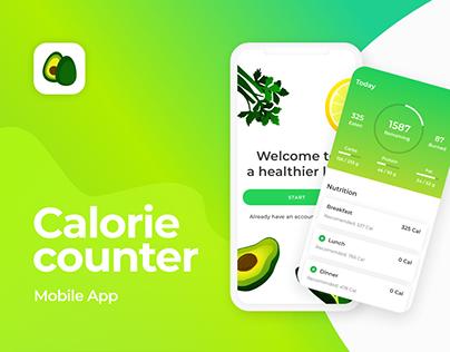 Calorie counter | Mobile Application