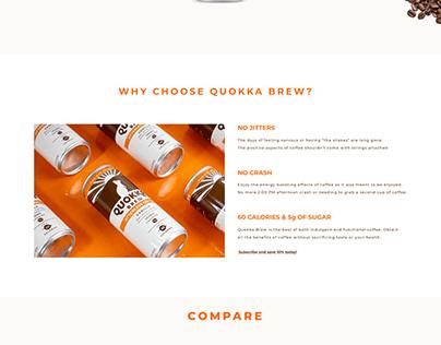 Quokka Brew Website redesign