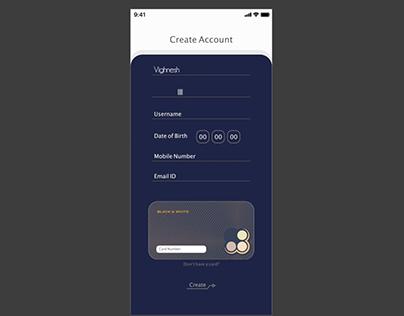 Cafe App UI