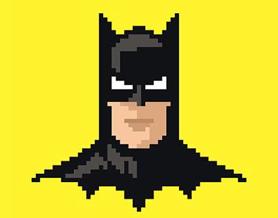 PIXEL ART - The Batman