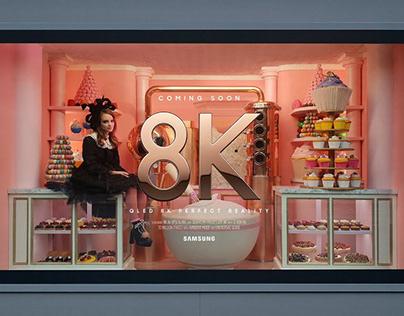 Samsung QLED 8K Outdoor