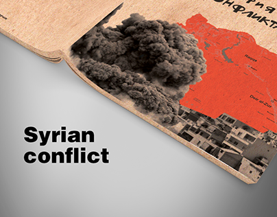 Book about the Syrian conflict