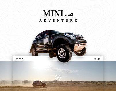 MINI ALL4 ADVENTURE | Landing page