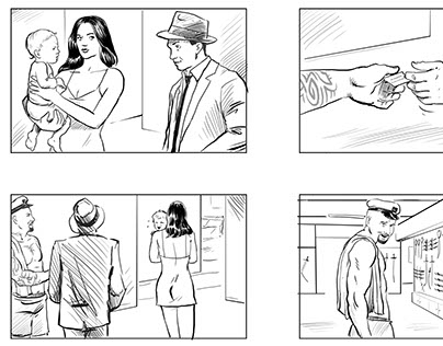 Storyboards - Love Stories Are Too Violent For Me