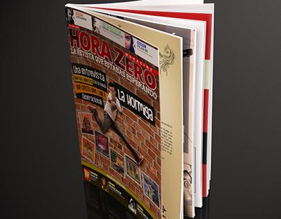 Diseño para Hora Zero Magazine Nro 2