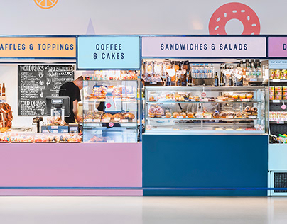 NU Sweets - Corporate Design & Airport Stand