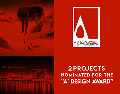 """2 Projects nominated for the """"A' Design Award"""""""