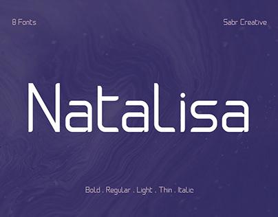 Free Natalisa Sans Serif Font Family