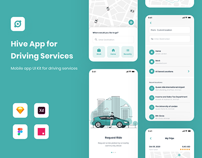 Hive App | Driving Services