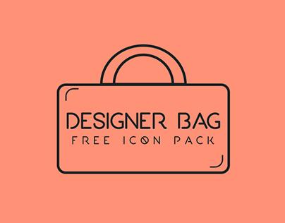 Designer Bag- free icon pack