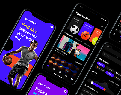 UX / UI for sports ground booking