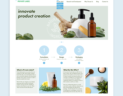 Innovative Website
