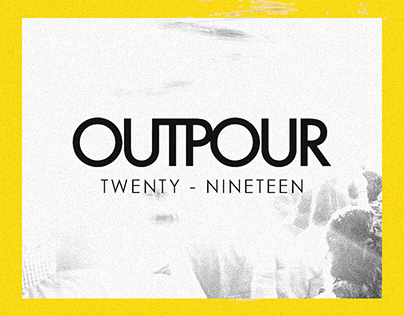 OUTPOUR 2019 • Branding