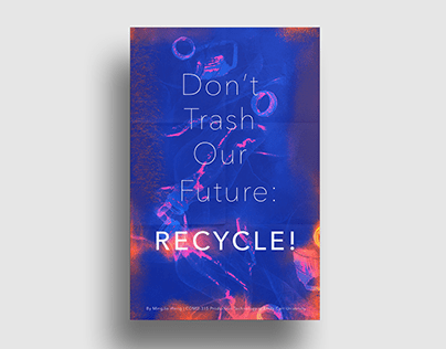 Plastic Recycling (Poster Design)