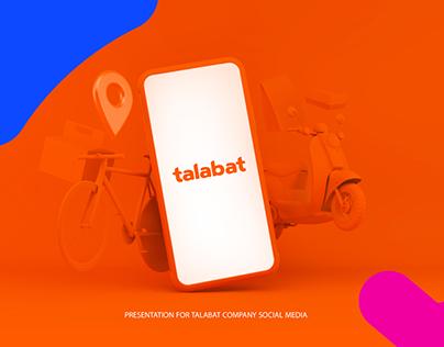 Talabat Social Media