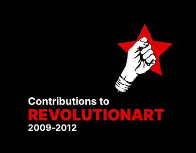 Contributions to REVOLUTIONART