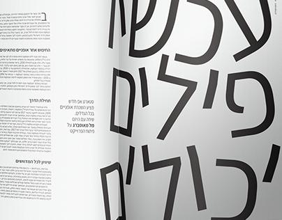 The Zootropolis- Magazine design