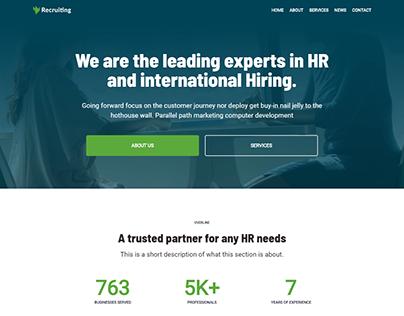Agency wordpress website | Elementor