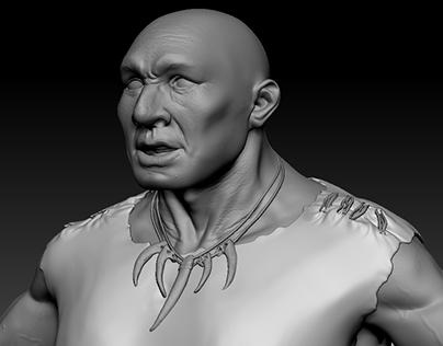 Neanderthal&Homo Sapiens High Poly