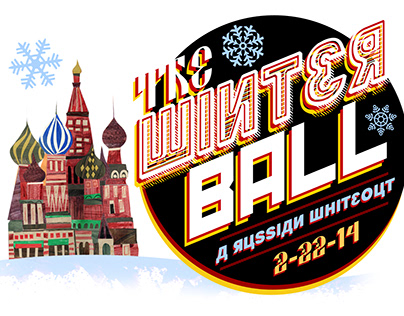 2014 Winter Ball Logo Design