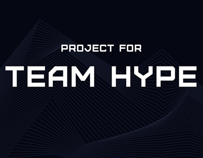 Project for Team Hype