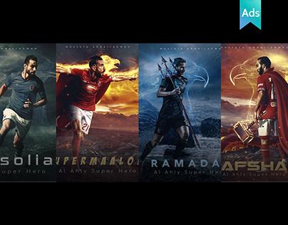 al-ahly's superheros