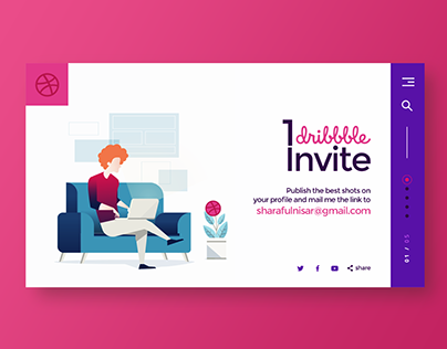 1 Dribbble Invite Giveaway