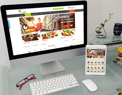 Webdesign partytalir.cz - catering e-shop
