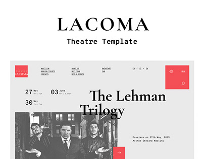 Lacoma — Theatre Template