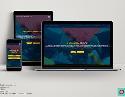 Diseño Web | Semana de la Mediación 2017