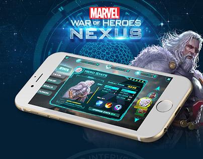 UI Concept: War of Heroes - Nexus