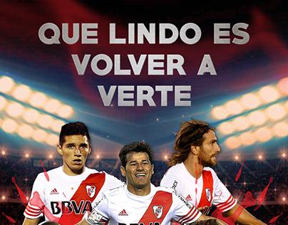 Que lindo es volver a verte - River Plate