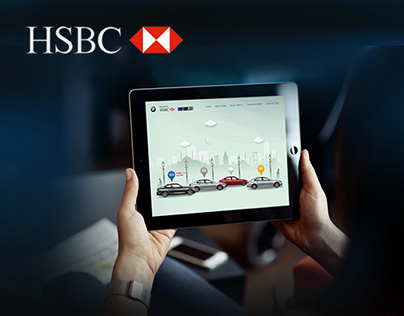HSBC & BMW Driving Experience Website