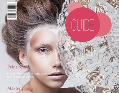 Guide Magazine Template